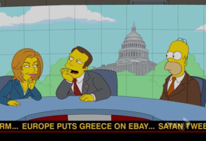 Simpsons Greece