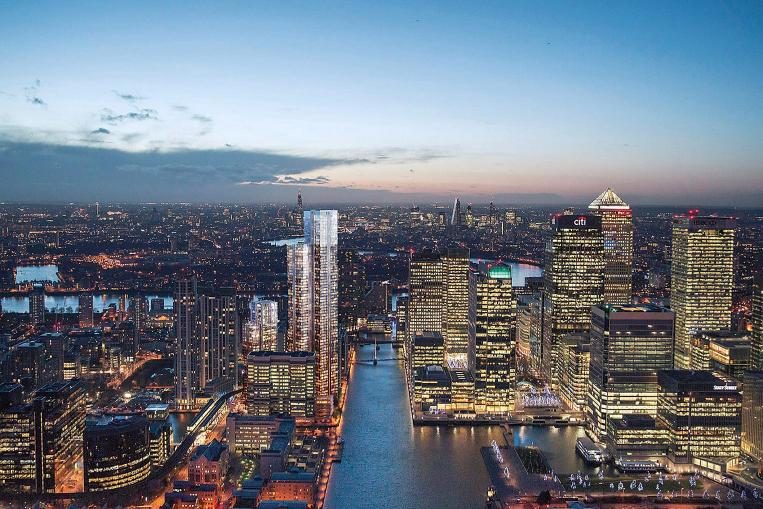 Berkeley launches first Canary Wharf project