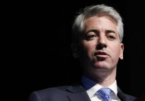 Ackman, CEO and portfolio manager of Pershing Square Capital Management, L.P., speaks at the Ira Sohn Investment Conference in New York