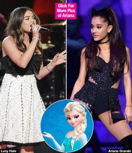 lucy-hale-ariana-grande-frozen-soundtrack-lead