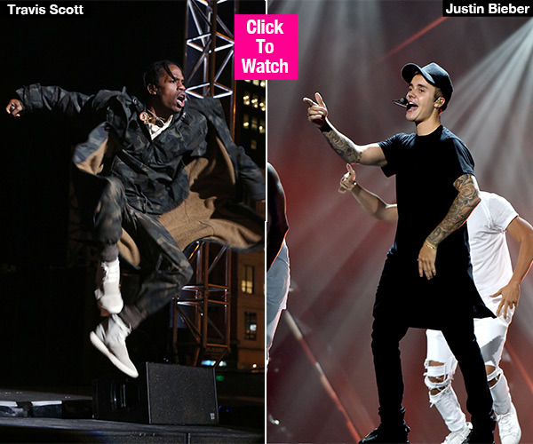 9f97f313fa8e Travis Scott's 'Maria I'm Drunk:' Fans Go Wild For Justin Bieber's ...