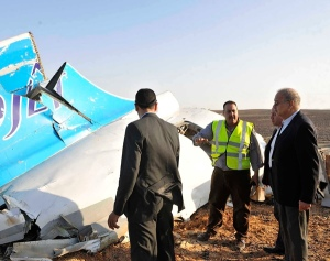 CORRECTION Mideast Egypt Russian Plane Crash