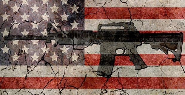 rifle-gun-flag