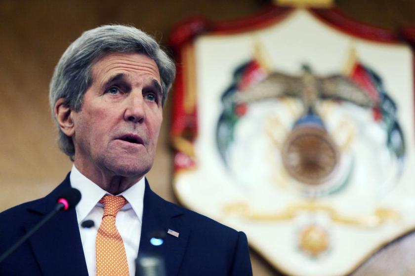 JOR: John Kerry Meetings In Amman