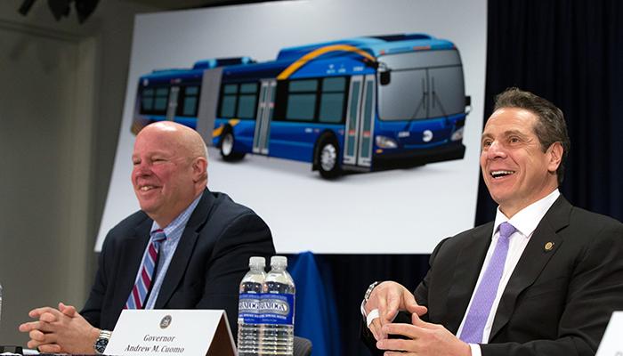 a - MTA bus
