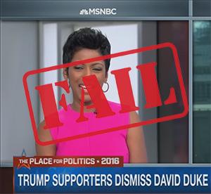 MSNBC Racism Fail