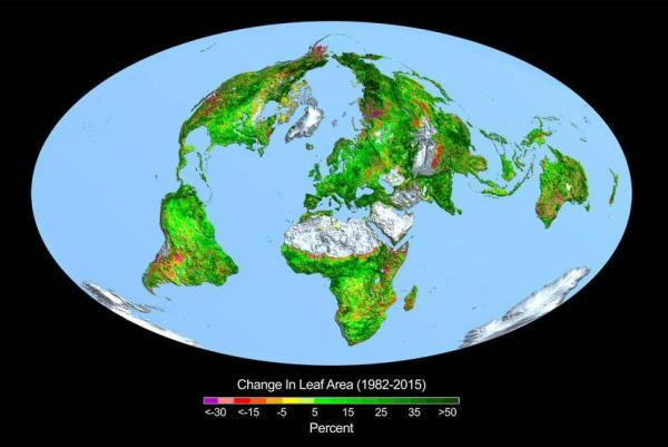 NASA-Higher-CO2-levels-reponsible-for-greening-Earth
