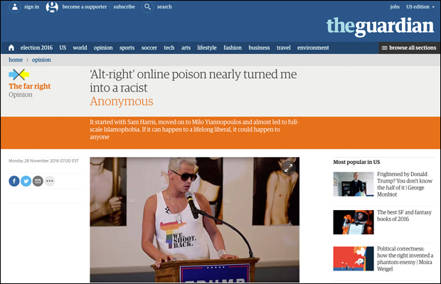 REPORT: THE GUARDIAN PUBLISHES FAKE NEWS FROM NOTORIOUS INTERNETTROLL